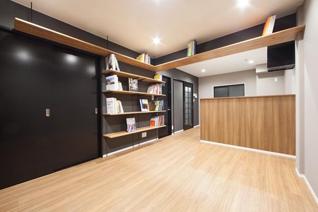 本に囲まれ、本と暮らす賃貸居室「THE BOOK LIFE」