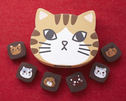 チョコ好き・猫好きさんへ贈る。『フェリシモ猫部』から「猫チョコ」が新登場