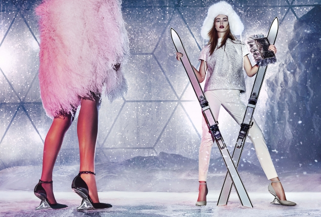 JIMMY CHOO Online Boutique Holiday Gift Campaign