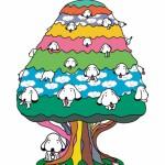 下北沢に待ち合わせ場所を!リリー・フランキー氏デザインのモニュメント「こいぬの木」が、レシピシモキタ前の広場に誕生。