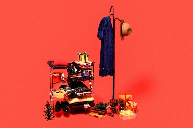 ニューヨーカー バイ ケイタ マルヤマ 12月1日(木)~25日(金)の期間、クリスマスギフトラッピングサービスをスタート