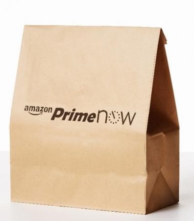 1時間で届く、毎日のお買い物 Amazonプライム会員向けに新サービス「Prime Now」を開始