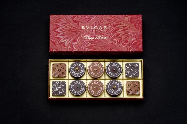 ブルガリ チョコレート・ジェムズ クリスマス限定商品「ナターレ・ボックス2015」が発売開始