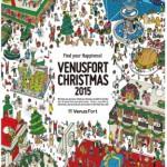 ヴィーナスフォートにクリスマスマーケットが期間限定オープン!- Find your Happiness!-「VENUSFORT CHRISTMAS 2015」