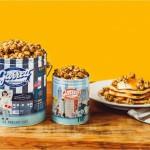 ギャレット ポップコーンとJ.S. PANCAKE! コラボデザイン缶&世界初登場の新フレーバー2種類