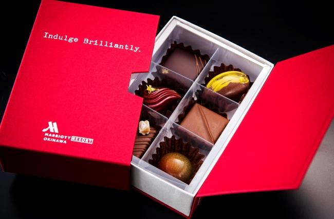 オキナワ マリオット リゾート & スパ、『チョコレートコレクション』沖縄の食材を使った珠玉の6種