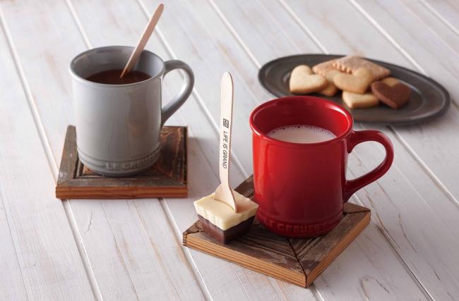ル・クルーゼ、2016年バレンタイン「チョコレートカンパニー」とのギフトセットが日本限定で初登場