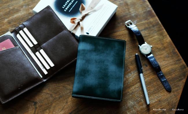 土屋鞄のバレンタインギフト チョコレートに見立てた上質なレザーアイテム「パスポートケース」
