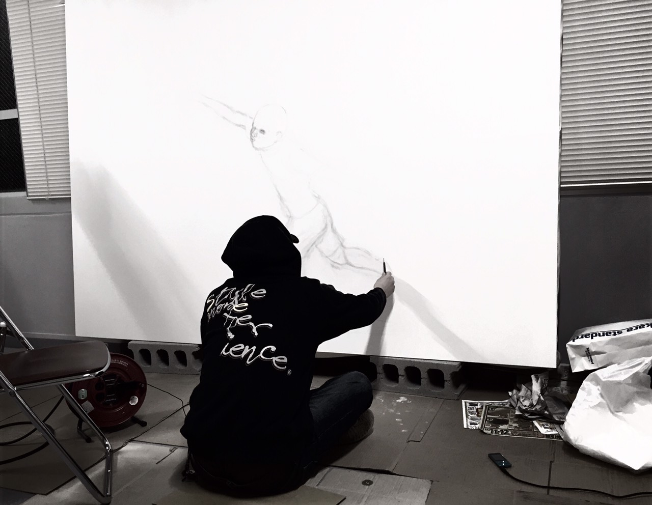 アーティスト竹原さん