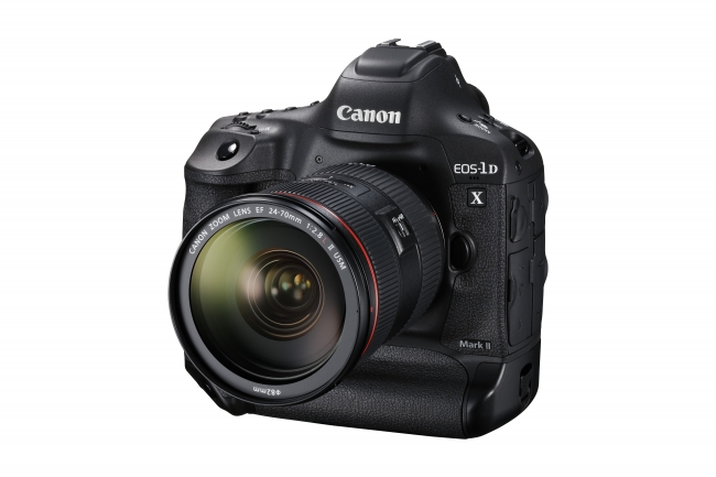 """キヤノン 高画質と最高約14コマ/秒の高速連写を両立 デジタル一眼レフカメラのフラッグシップ機""""EOS-1D X Mark II""""を発売"""
