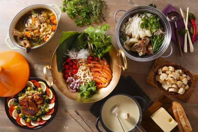 シェラトン・グランデ・トーキョーベイ・ホテル2月限定「世界の鍋フェア」開催中