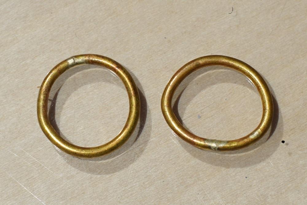 名もなき指輪(真鍮)のビフォーアフター